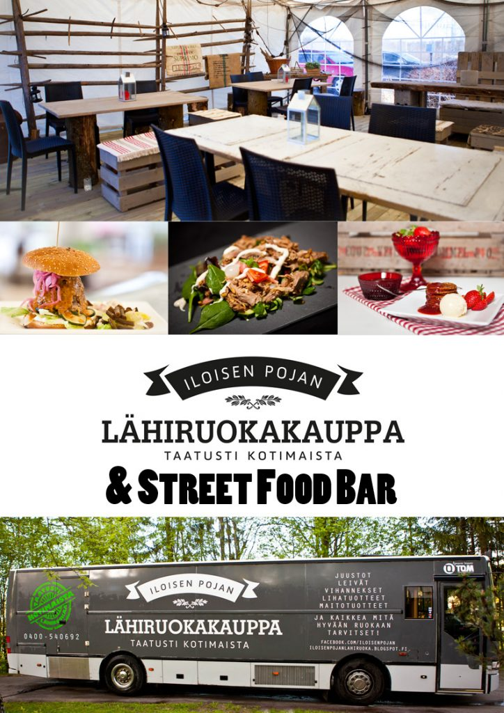 Iloisen Pojan Lähiruokakauppa & Street Food Bar
