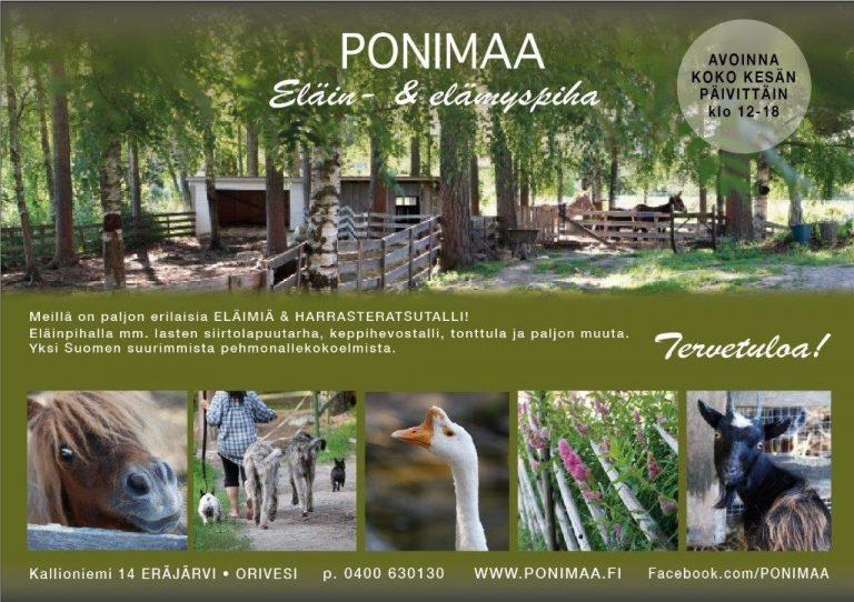 Eläin- ja Elämyspiha Ponimaa